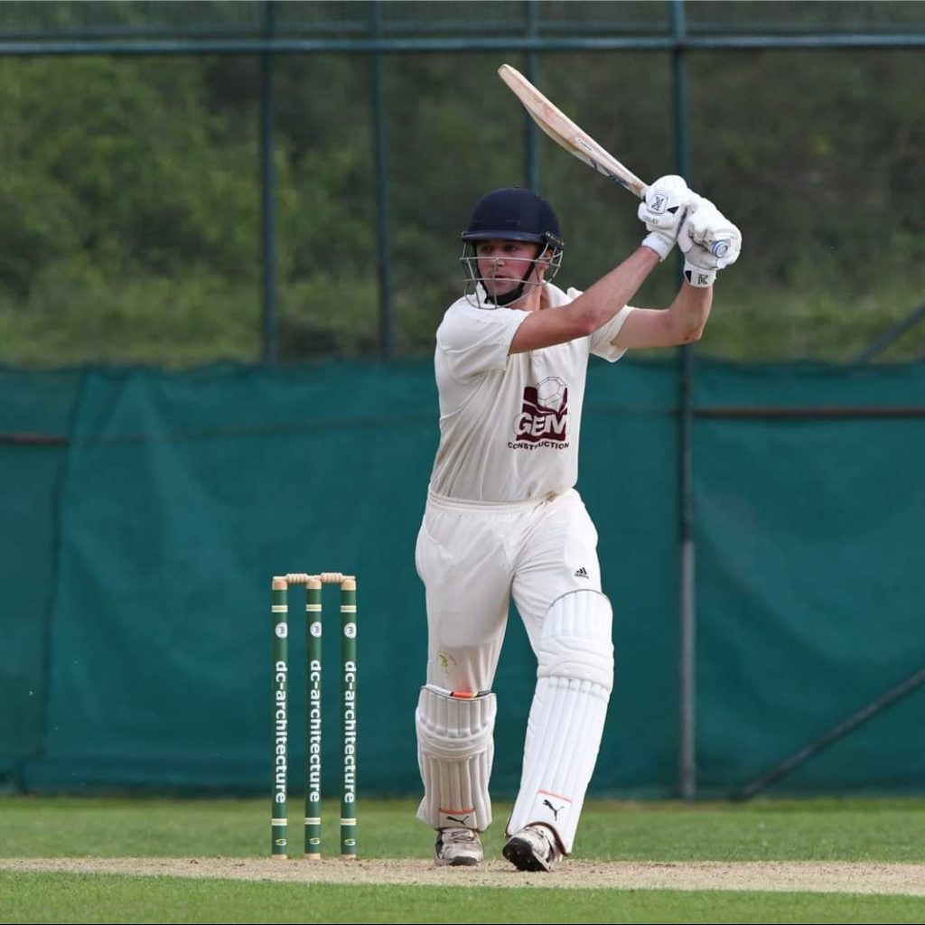 Liam Green, CACC First XI captain
